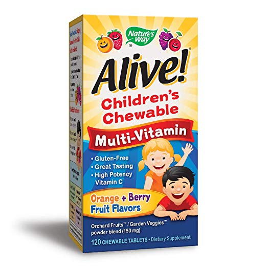 Alive!® Children's Multi Chewables - 120 Chw Tb - Machoah®