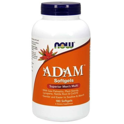 Adam™ Men's Multiple Vitamin - 180 Softgels - Machoah®
